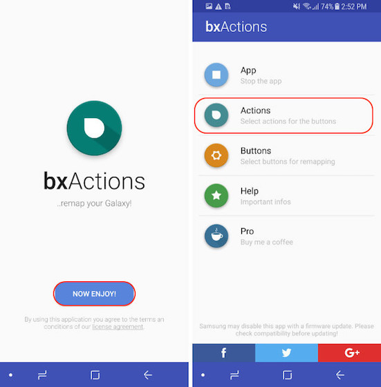 Remap The Bixby Button - Blocking Mode - Step 3