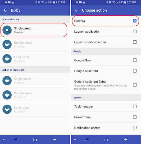 Remap The Bixby Button - Control Mode - Step 12