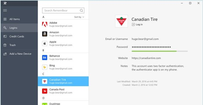 Popular VPN Service TunnelBear Launches its Password Manager App