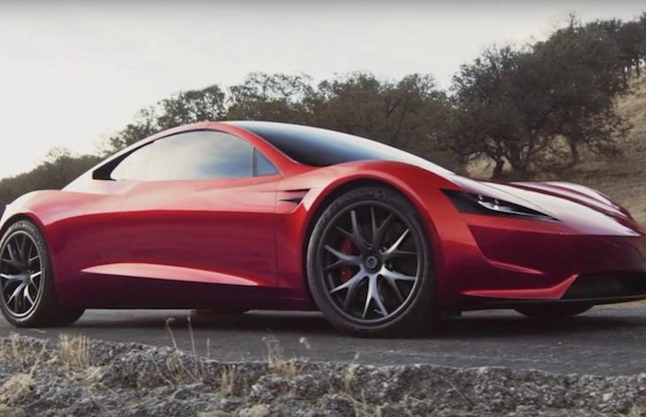 Tesla Unveiled The Roadster 2 The Fastest Production Car In History