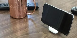 The AirPods Case Makes Up for a Perfect iPhone X Stand
