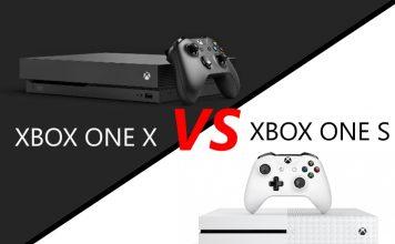 Xbox One X vs Xbox One S
