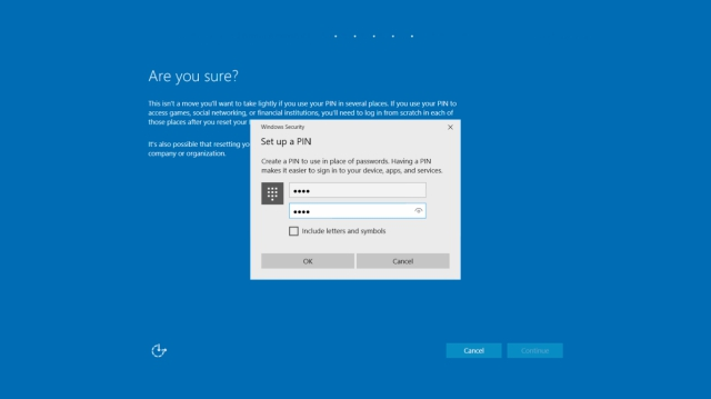 How to Reset Password and PIN from Windows 10 Lock Screen