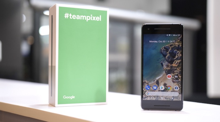 pixel 2 review whats in the box