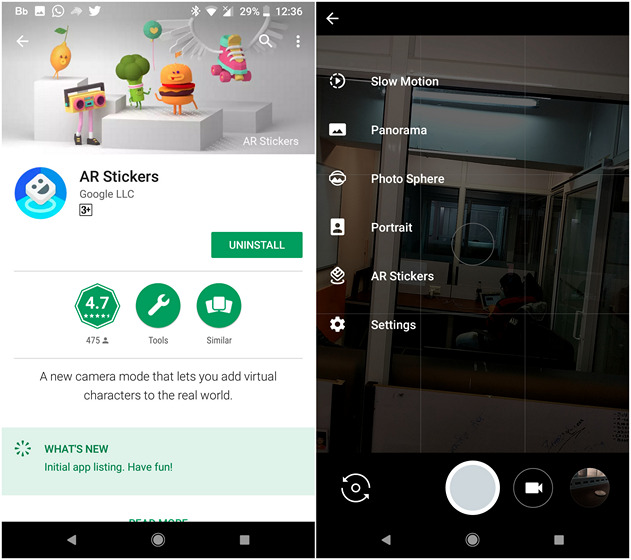 Google Launches its AR Stickers for Pixel Smartphones