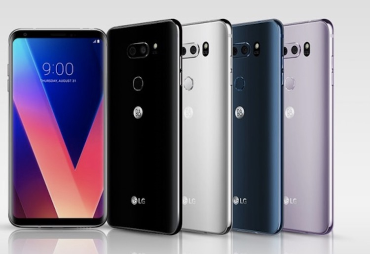 Android Oreo update for LG V30 and V30+ is now rolling out