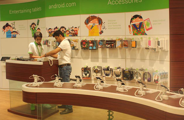 Android stores in India