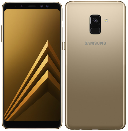 The New Galaxy A8 and Galaxy A8+ Have Dual Front Cameras and Infinity Displays