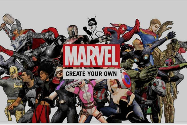 Marvel Launches Create Your Own Comics App