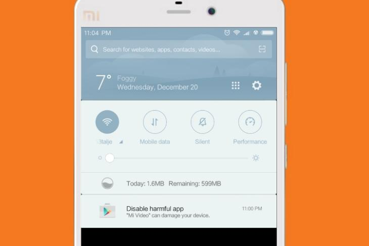 Mi Video Harmful App featured