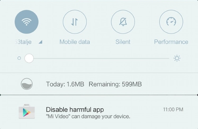 Mi Video Harmful App