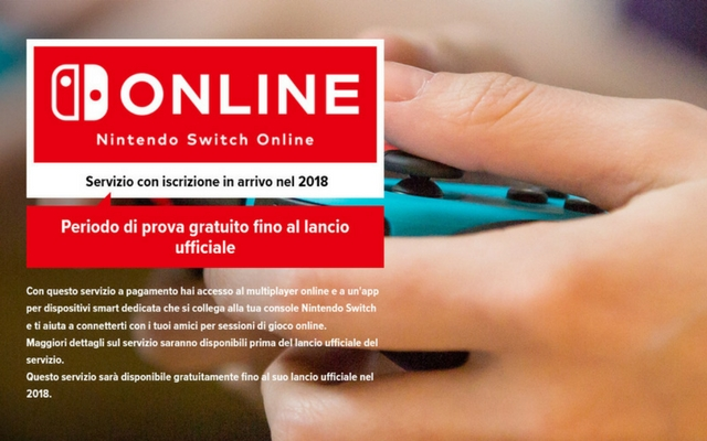 Nintendo Italian Website