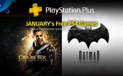 PlayStation Plus Games for January 2018 Announced