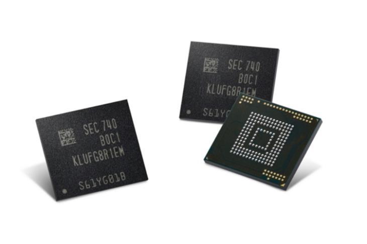 Samsung 512 GB Flash Storage Smartphones