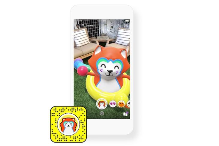 Snapchat's New Lens Studio App Allows Users to Create Their Own AR Effects