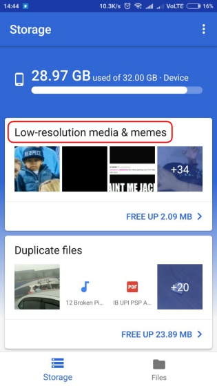 Google's Files Go App Can Shockingly Detect and Filter Out Memes