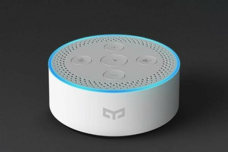 Xiaomi's Yeelight Smart Speaker Is an Echo Dot Look Alike