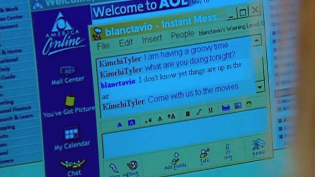 aol messenger screenshot