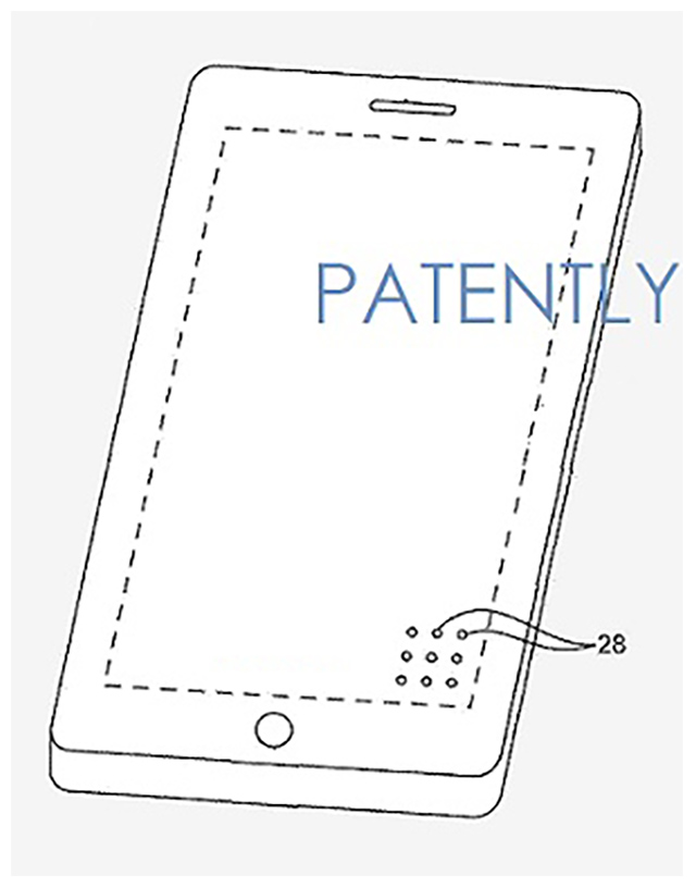 Apple Patents See-Through iPhone Display with Transparent Speaker Grills