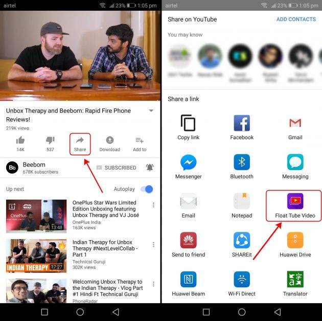 How to Watch YouTube in PiP Mode on Any Android Device | Beebom