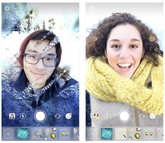 instagram face filters new