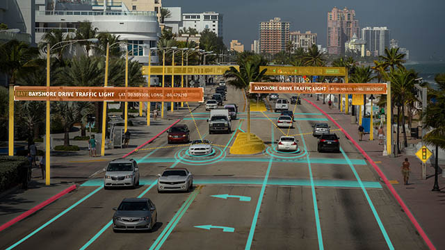LG and HERE Working Together on Autonomous Cars