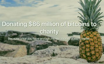 Bitcoin Charity Pineapple Fund