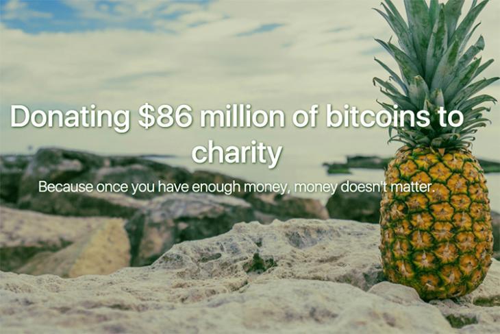 Bitcoin Charity Pineapple Fund