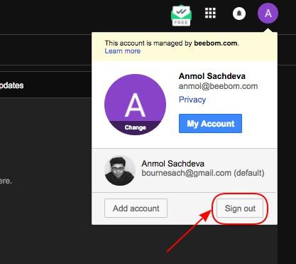 Cara Mengubah Akun Gmail Default Saat Menggunakan Banyak Akun