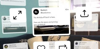 TweetReality is the first AR Client for Twitter