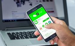 WeCHat app as ID in China