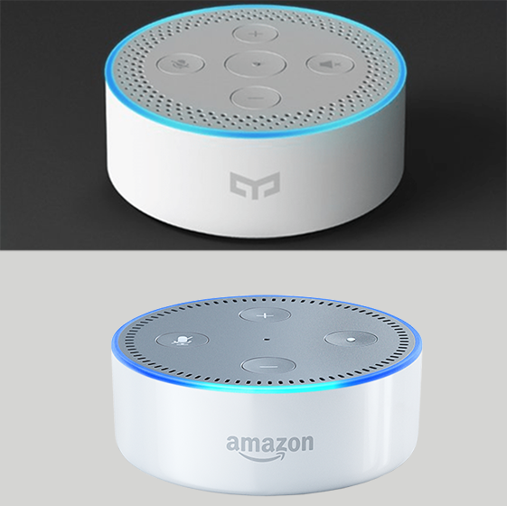 Yeelight Smart Speaker vs Alexa Echo Dot