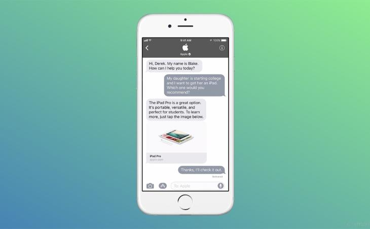 Apple Chat app