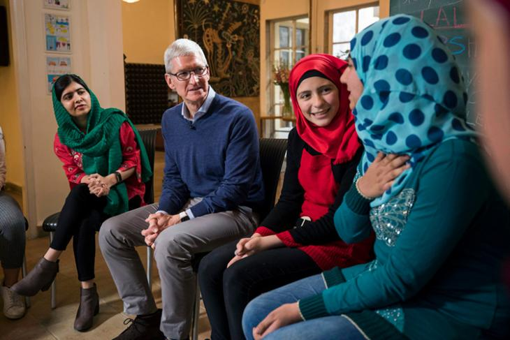 Apple Ties-up With The Malala Fund (1)
