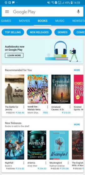 Google Teases Arrival of Audiobooks on Play Store