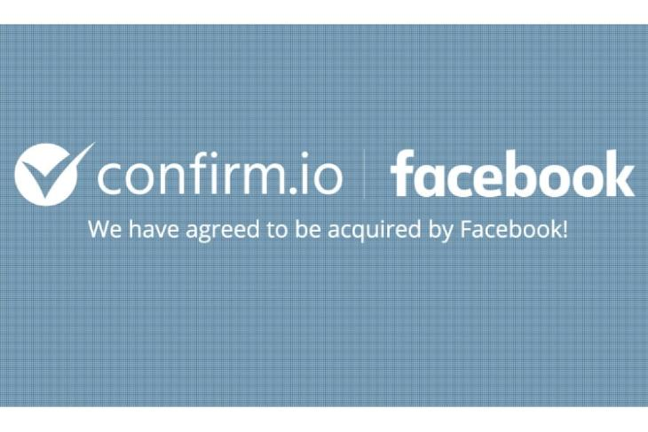 Biometric Authentication Startup Confirm.io Acquired by Facebook