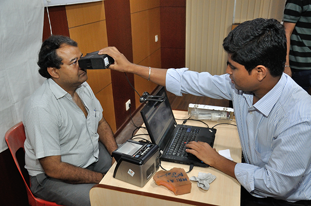 Biometric Data Collection For Aadhaar