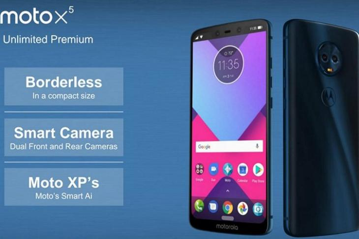 Bunch of Moto Devices Leak with iPhone X-style Notch, Triple Rear Cameras, 189 Displays and More