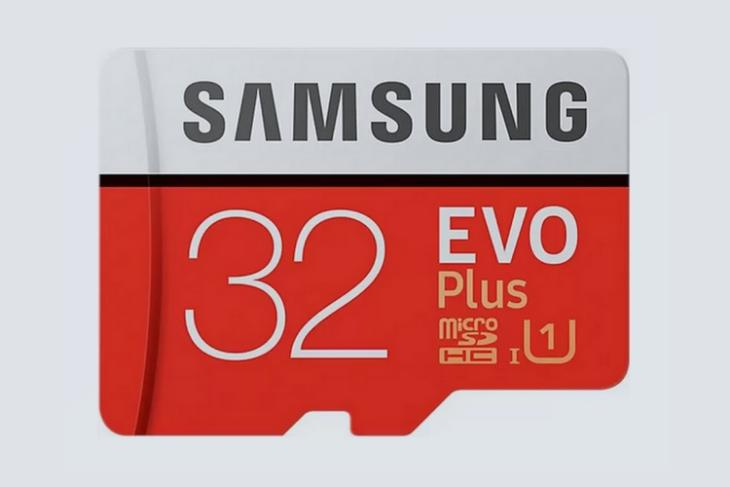 Buy the Samsung EVO Plus 32GB Class 10 MicroSD Card for Just ₹699 from Flipkart and Amazon