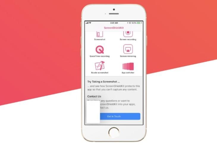 Confide Unveils iOS Screenshot-Prevention SDK ScreenShield