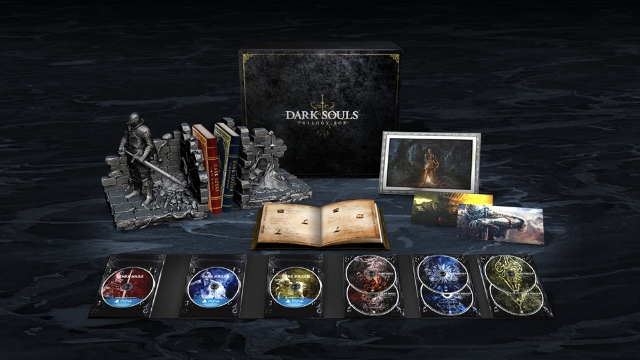Dark Souls Trilogy Box Japan