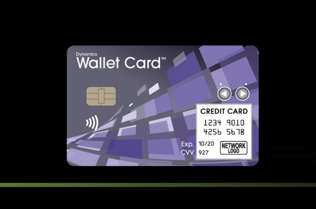 Dynamics Wallet Card