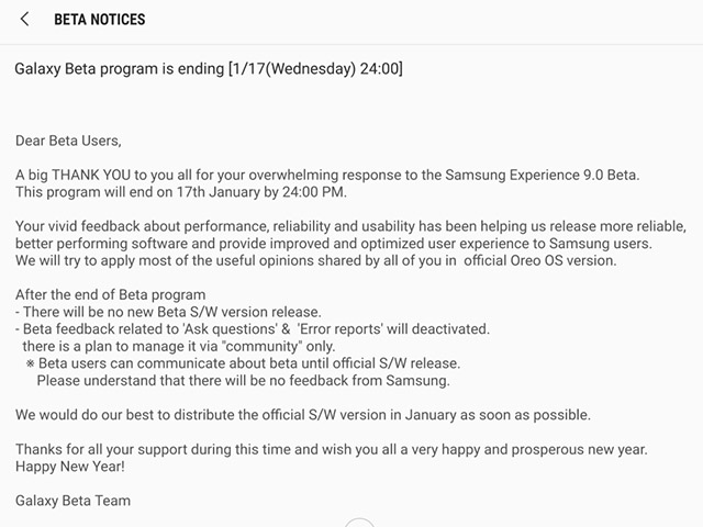 Samsung Galaxy S8/S8+ to Get Android Oreo this Month
