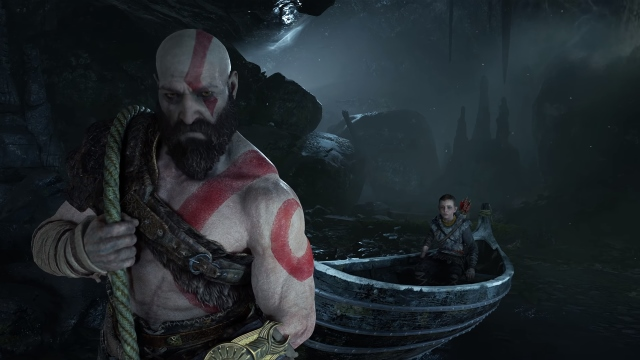 God of War Boat 3