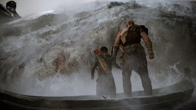God of War Boat 4