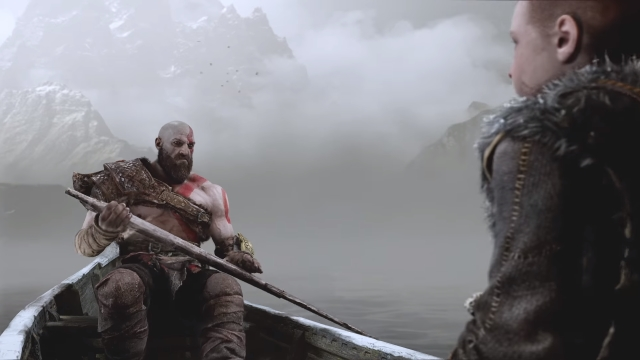 God of War Boat