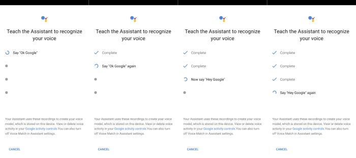 Google Assisstant Hotword Teaching