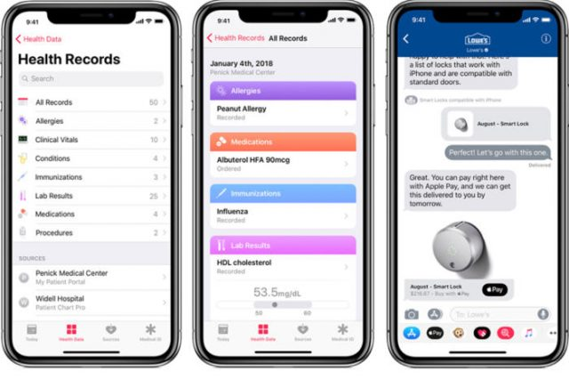 Apple Previews iOS 11.3 Update: Battery Health Tracker, New Animojis, iCloud Messages, Health Records and More