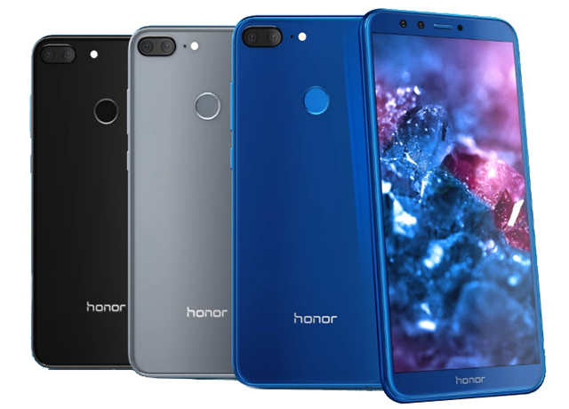 Honor 9 Lite features dual cameras on front and back