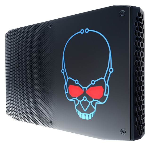 Intel CPU-powered NUC with integrated AMD graphics